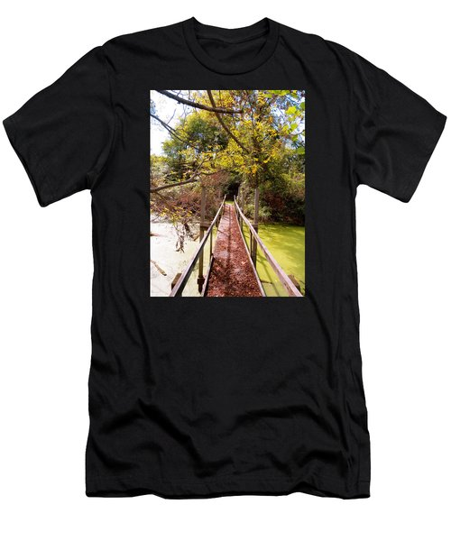Autumn Bridge Men's T-Shirt (Athletic Fit)
