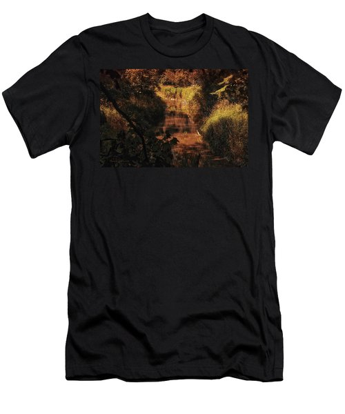 Autumn By The Argyle Creek Men's T-Shirt (Athletic Fit)