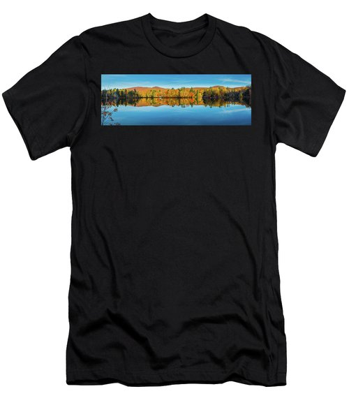 Autumn By The Lake Men's T-Shirt (Athletic Fit)