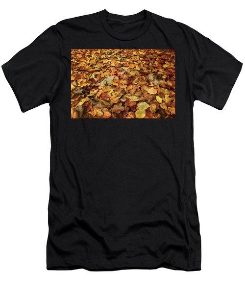 Autumn Carpet Men's T-Shirt (Athletic Fit)