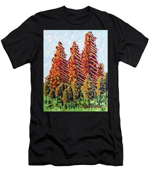 Autumn Christmas Men's T-Shirt (Athletic Fit)