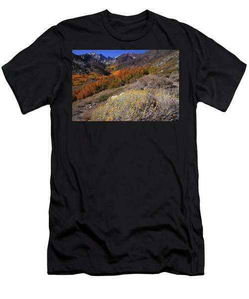 Autumn Colors At Mcgee Creek Canyon In The Eastern Sierras Men's T-Shirt (Athletic Fit)