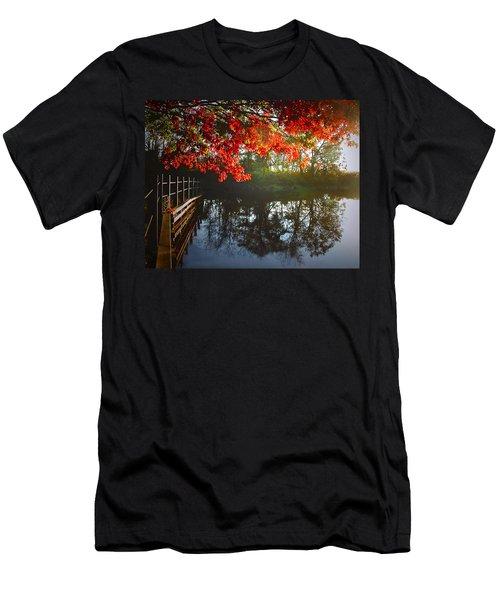 Autumn Creek Magic Men's T-Shirt (Athletic Fit)