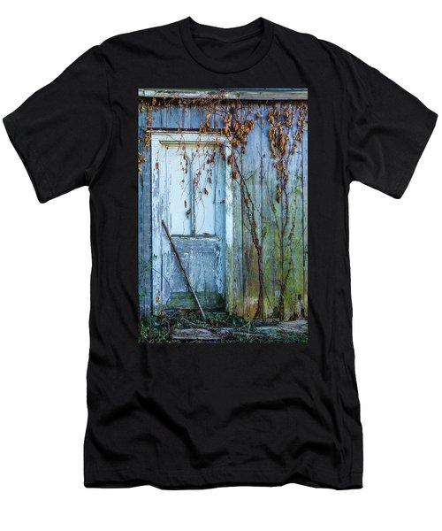 Autumn Door Men's T-Shirt (Athletic Fit)