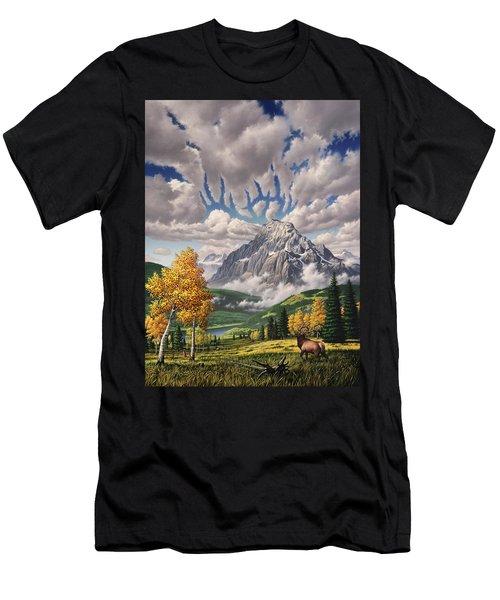 Autumn Echos Men's T-Shirt (Athletic Fit)