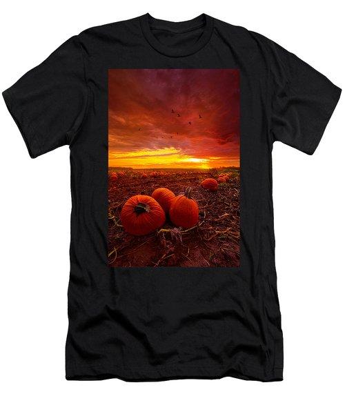 Autumn Falls Men's T-Shirt (Athletic Fit)
