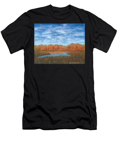 Autumn Field 01 Men's T-Shirt (Athletic Fit)