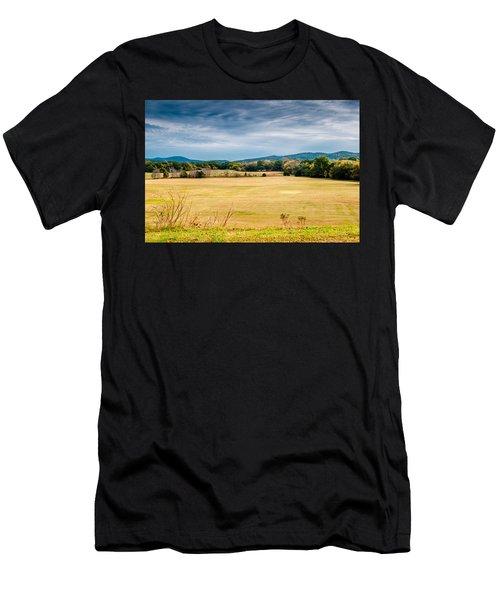 Autumn Field Men's T-Shirt (Athletic Fit)