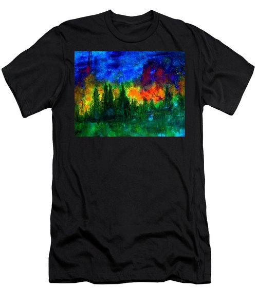Autumn Fires Men's T-Shirt (Athletic Fit)