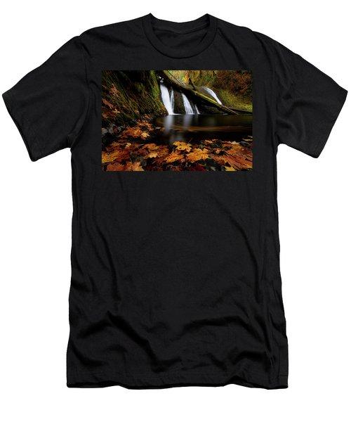 Autumn Flashback Men's T-Shirt (Athletic Fit)