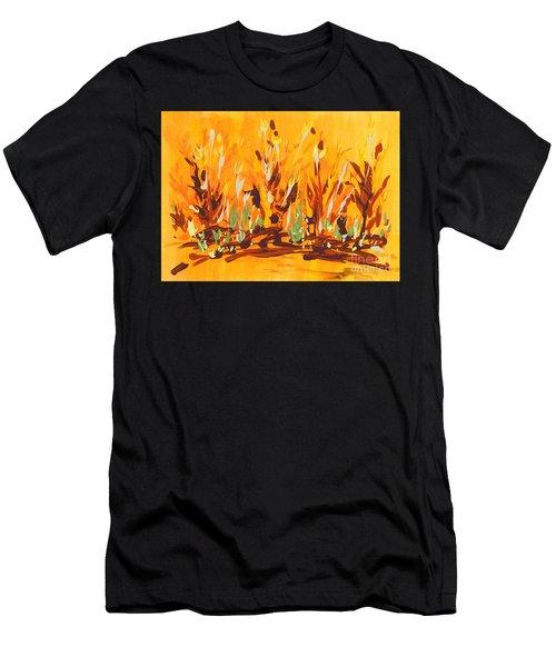 Autumn Garden Men's T-Shirt (Athletic Fit)