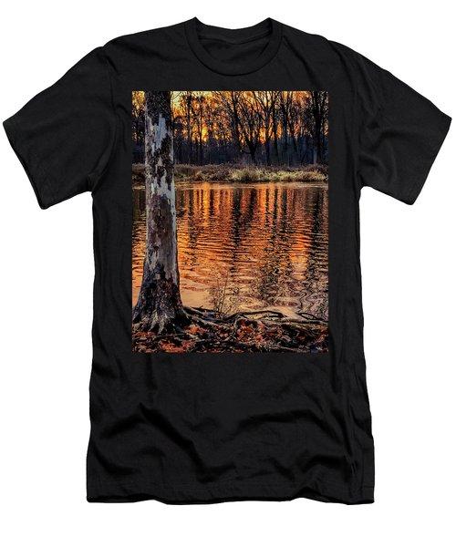 Autumn Gold Men's T-Shirt (Athletic Fit)