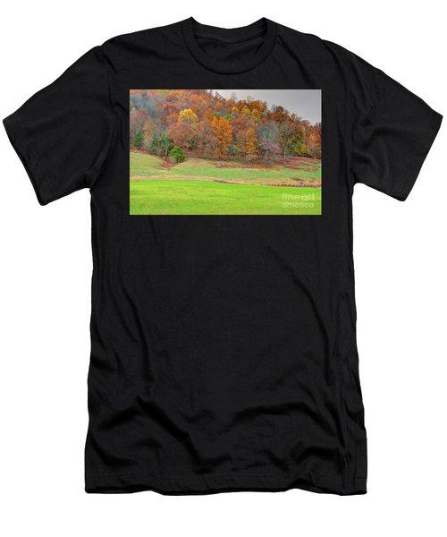 Autumn Hillside Men's T-Shirt (Athletic Fit)