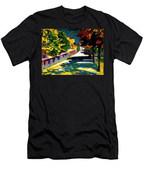 Autumn In Bavaria Men's T-Shirt (Athletic Fit)