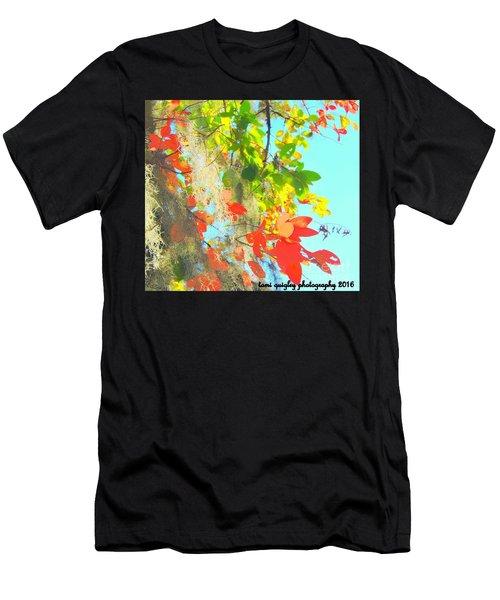 Autumn In Dixie  Men's T-Shirt (Athletic Fit)