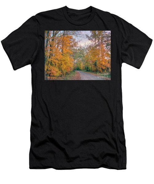 Autumn In East Texas Men's T-Shirt (Athletic Fit)