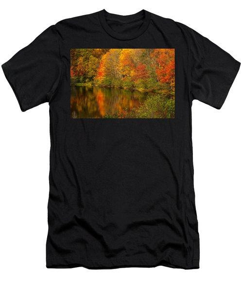 Autumn In Monroe Men's T-Shirt (Athletic Fit)