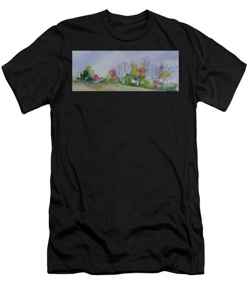 Autumn In Rural Ohio Men's T-Shirt (Athletic Fit)