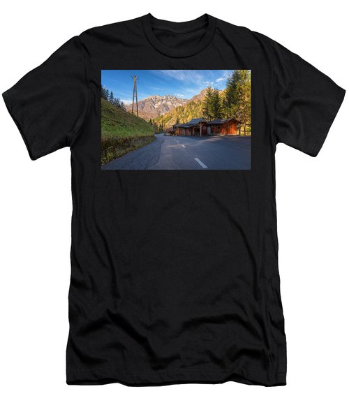 Autumn In Slovenia Men's T-Shirt (Athletic Fit)