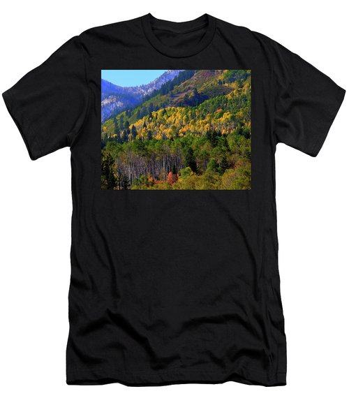Autumn In Utah Men's T-Shirt (Athletic Fit)