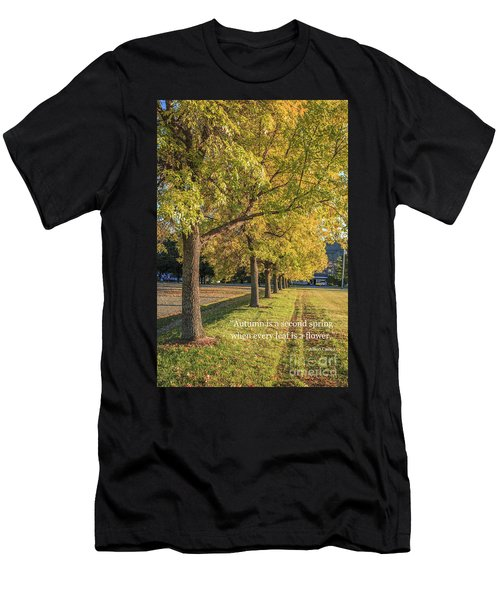 Autumn Is The Second Sprint Men's T-Shirt (Athletic Fit)