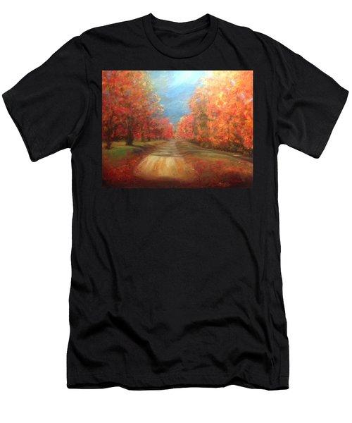 Autumn Dream Men's T-Shirt (Athletic Fit)