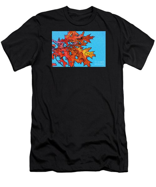 Autumn Leaves 14 Men's T-Shirt (Athletic Fit)