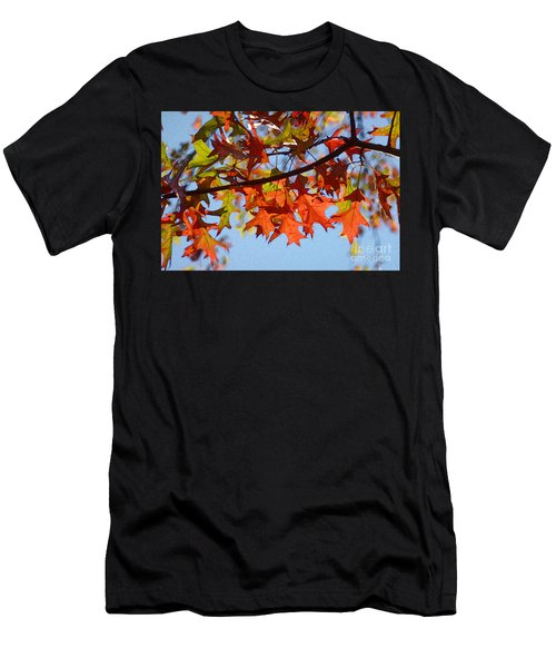 Autumn Leaves 16 Men's T-Shirt (Athletic Fit)