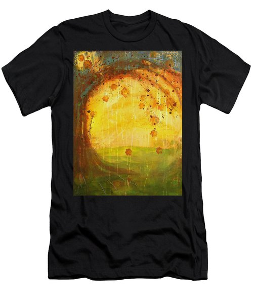 Autumn Leaves - Tree Series Men's T-Shirt (Athletic Fit)