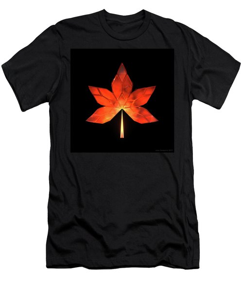Autumn Leaves - Frame 320 Men's T-Shirt (Athletic Fit)