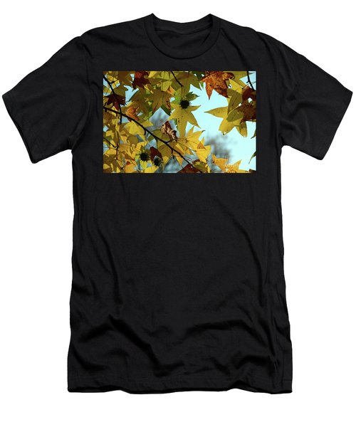 Autumn Leaves Men's T-Shirt (Athletic Fit)