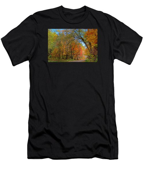 Autumn Light Men's T-Shirt (Athletic Fit)