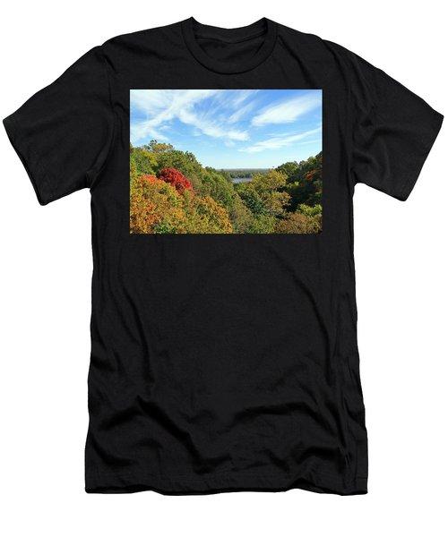 Autumn Lookout Men's T-Shirt (Athletic Fit)