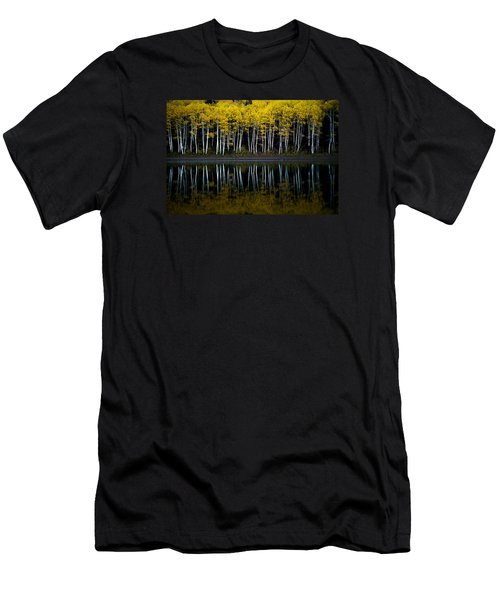 Autumn Mirror Men's T-Shirt (Slim Fit) by Dustin  LeFevre