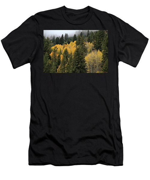 Autumn Mist, Owyhee Mountains Men's T-Shirt (Athletic Fit)