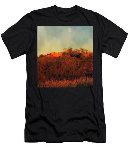Autumn Moonrise Men's T-Shirt (Athletic Fit)