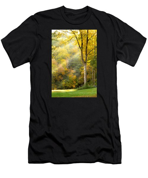Autumn Morning Rays Men's T-Shirt (Athletic Fit)