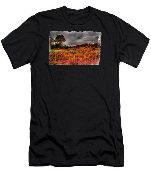 Autumn Near Woodstock Illinois Men's T-Shirt (Athletic Fit)