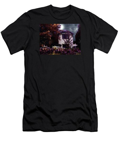 Autumn Night In The Country Men's T-Shirt (Slim Fit) by RC deWinter