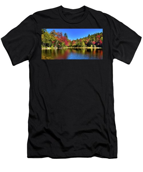 Autumn On 7th Lake Men's T-Shirt (Athletic Fit)