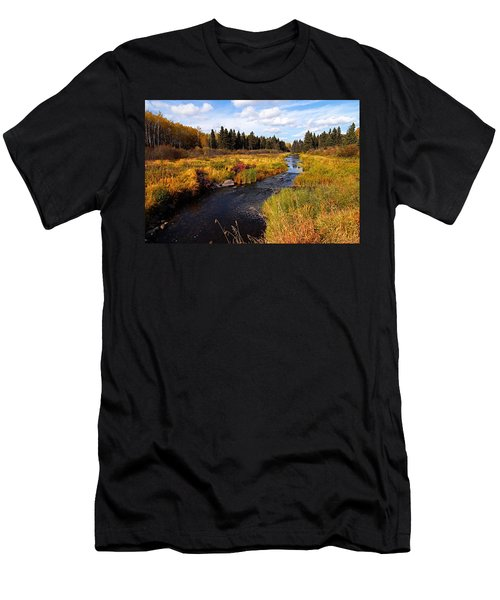Autumn On Jackfish Creek Men's T-Shirt (Athletic Fit)