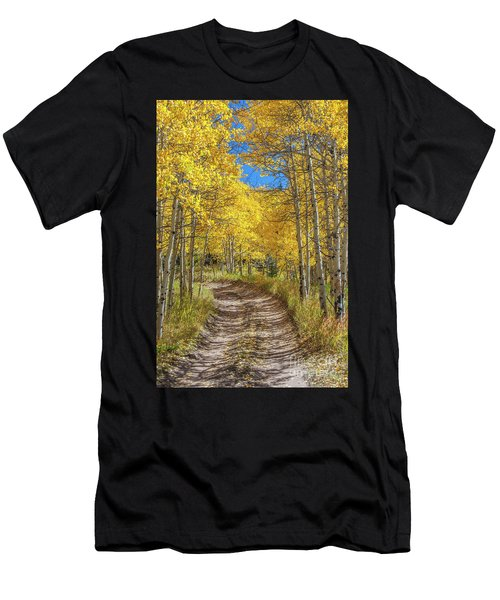 Autumn On Medano Pass Men's T-Shirt (Athletic Fit)