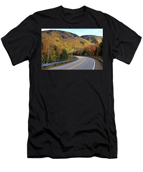 Autumn On The Cabot Trail, Cape Breton, Canada Men's T-Shirt (Athletic Fit)