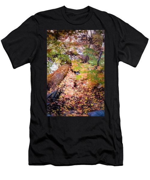 Autumn On The Mountain Men's T-Shirt (Athletic Fit)