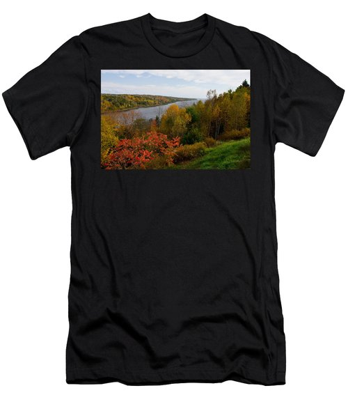 Autumn On The Penobscot Men's T-Shirt (Athletic Fit)