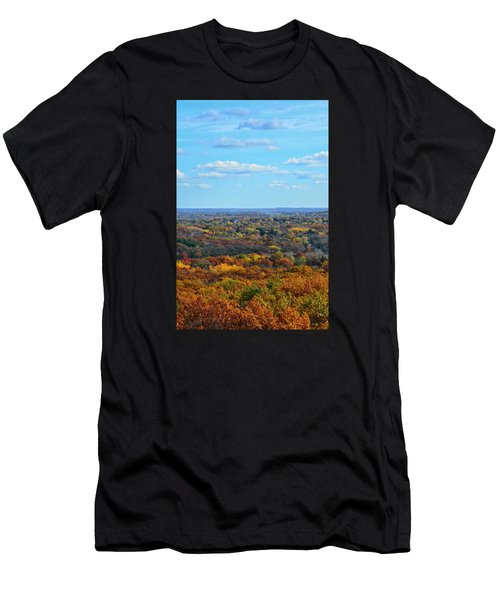 Autumn Overlook Men's T-Shirt (Athletic Fit)