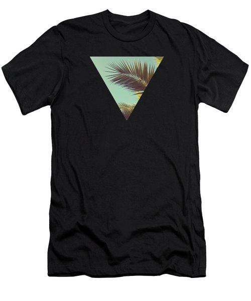 Autumn Palms Men's T-Shirt (Athletic Fit)