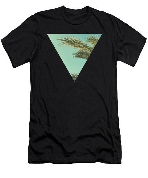 Autumn Palms II Men's T-Shirt (Athletic Fit)