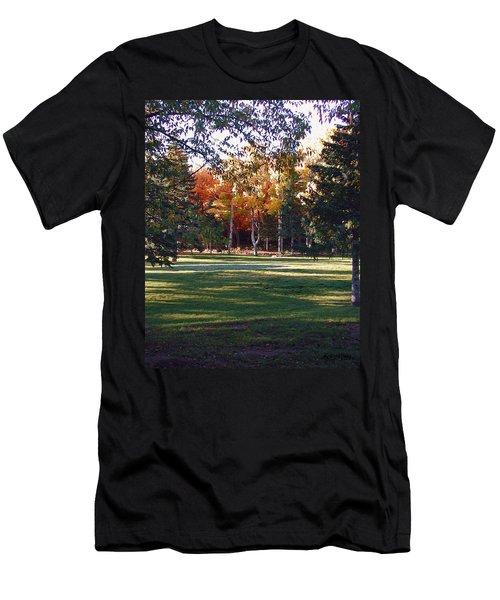 Autumn Park Men's T-Shirt (Athletic Fit)