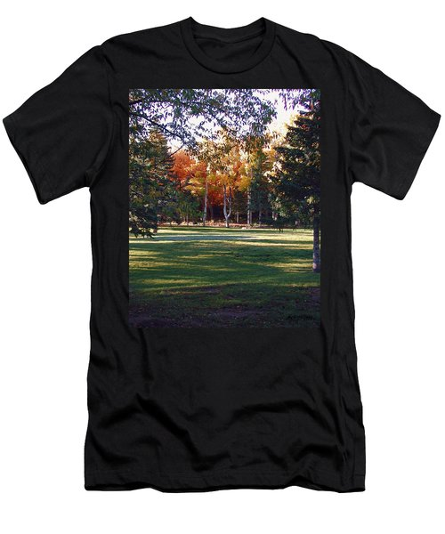 Autumn Park Men's T-Shirt (Athletic Fit)